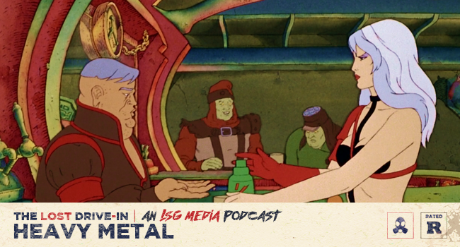 Heavy Metal 1981 Podcast Film Discussion The Lost Drive In